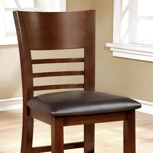 Red Barrel Studio Kidwell Counter Height Upholstered Dining Chair (Set of 2)