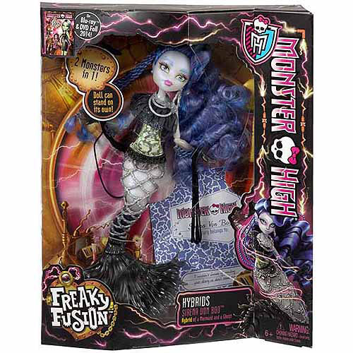 Monster High Freaky Fusion Hybrids Sirena Von Boo Doll by Mattel