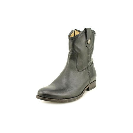 Frye Melissa Button Short   Round Toe Leather  Western Boot
