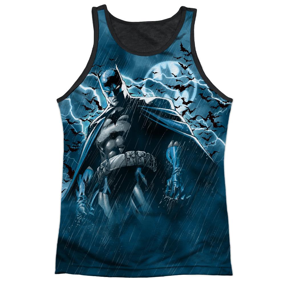 Batman Comic TV Series Stormy Bat Knight Adult Black Back...