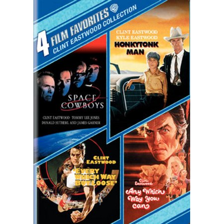 4 Film Favorites: Clint Eastwood Comedy Collection - Clint Eastwood Halloween
