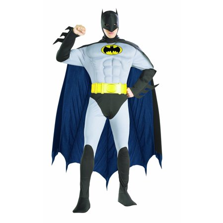 Rubie's Costume DC Comics Adult Deluxe Muscle Chest The Batman Gray Medium Costume (Medium, - 50 Shades Of Grey Costume Ideas