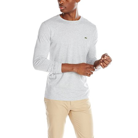 Lacoste Long Sleeve Jersey Pima Regular Fit T-Shirt - Mens