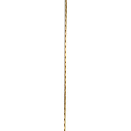 14k Yellow Gold .7mm Box Chain - image 1 of 5