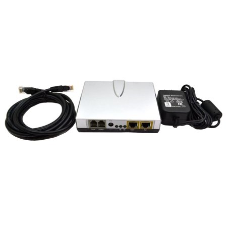 SPA-2100 Genuine Sipura Series Voip LAN OR WAN Internet Phone Adapter USA Networking Modems - New SPA-2100 GENUINE SIPURA SERIES VOIP LAN OR WAN INTERNET PHONE ADAPTER USA NETWORKING MODEMS Please note, this unit is new and comes with Power Adapter & Ethernet cable only. No other accessories. Please see our images.