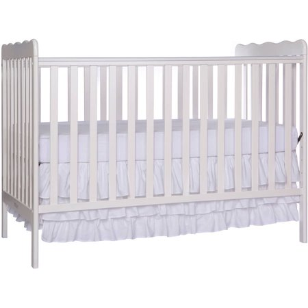 Dream On Me Classic 3-in-1 Convertible Crib - White - New Carters Baby Crib