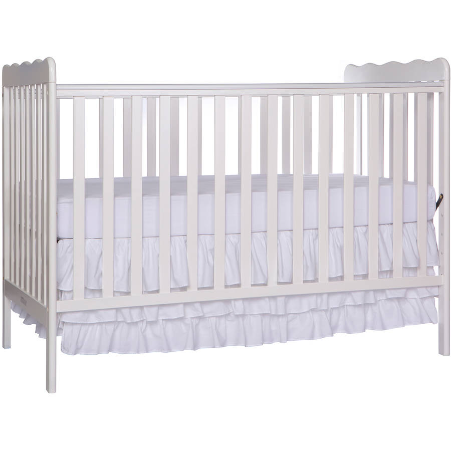 Dream On Me Classic 3-in-1 Convertible Crib White