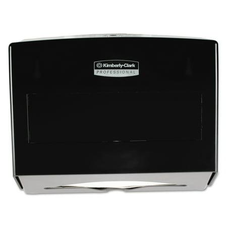 Kimberly-Clark Professional* Scottfold Towel Dispenser, Plastic, 10 3/4w x 4 3/4d x 9h, Smoke