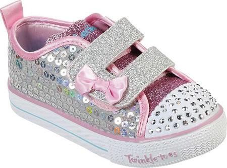 Kids Girls Infants Skechers Shuffle Lite Mini Mermaid Twinkle Toes All Sizes
