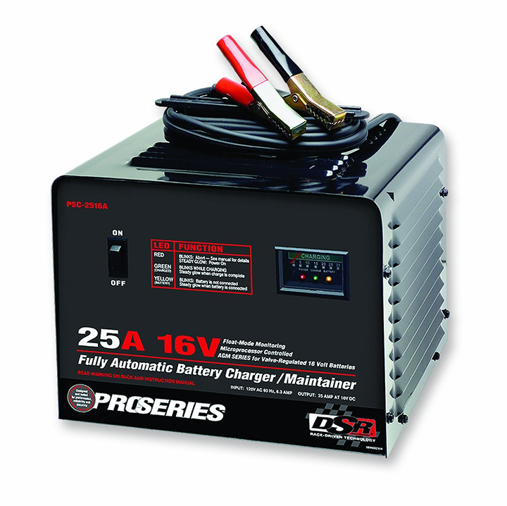Schumacher Electric PSC-2516A 25 Amp 16 Volt Fully Automatic Benchtop Charger