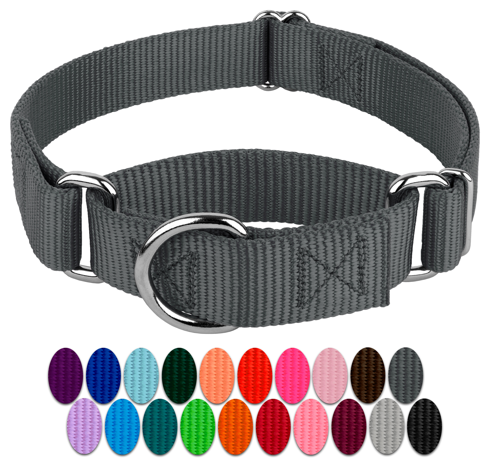 Country Brook Design | Martingale Heavyduty Nylon Dog Collar
