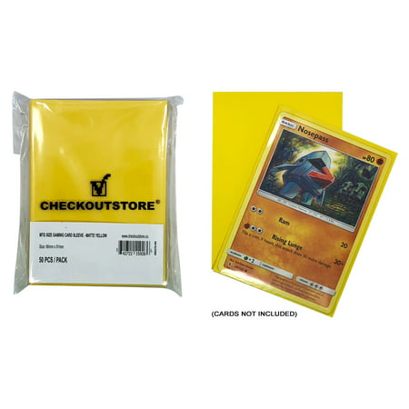 (100) CheckOutStore Protective Sleeves for Trading Cards (66 x 91 mm) (Matte