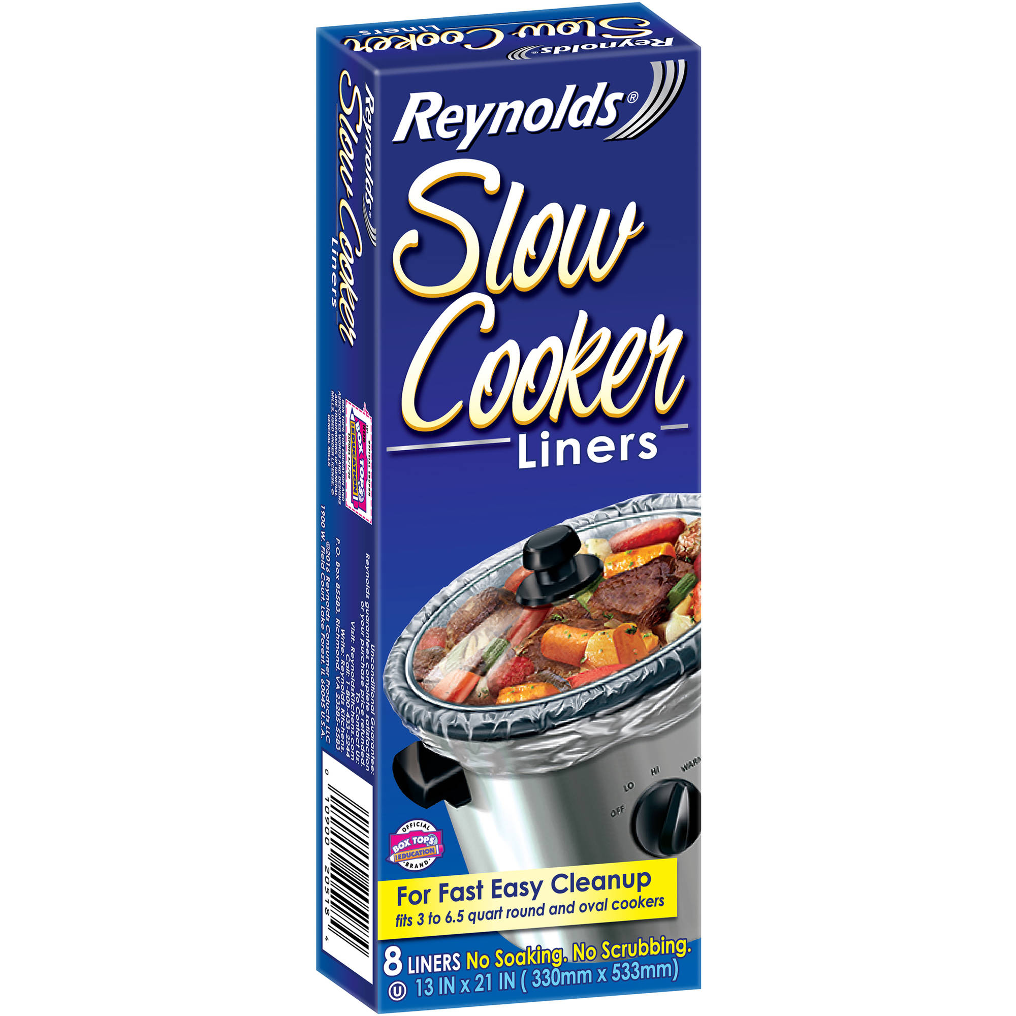 Reynolds Slow Cooker Liners, 8 count