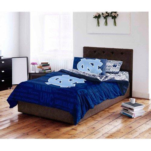 NCAA University Of North Carolina Tar Heels Bed In A Bag Complete Bedding  Set