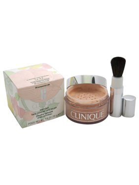Blended Face Powder and Brush - # 04 Transparency 4 (M)- All Skin Types by Clinique for Women - 1.2 oz Powder