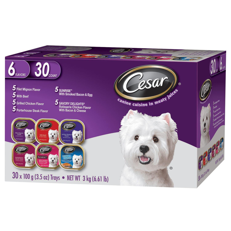 Cesar Canine Cuisine Variety - 3.5 oz. - 30 pk.