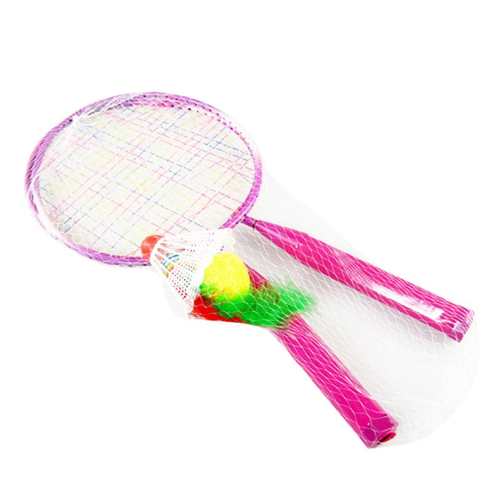 Badminton Tennis Rackets Balls Set Children Kids Outdoor Sports Parent-Child  Sports Educational Sports Game Toys for Children Boys Girls(Random Color) -  Walmart.com - Walmart.com