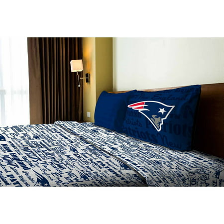 NFL New England Patriots Sheet Set by