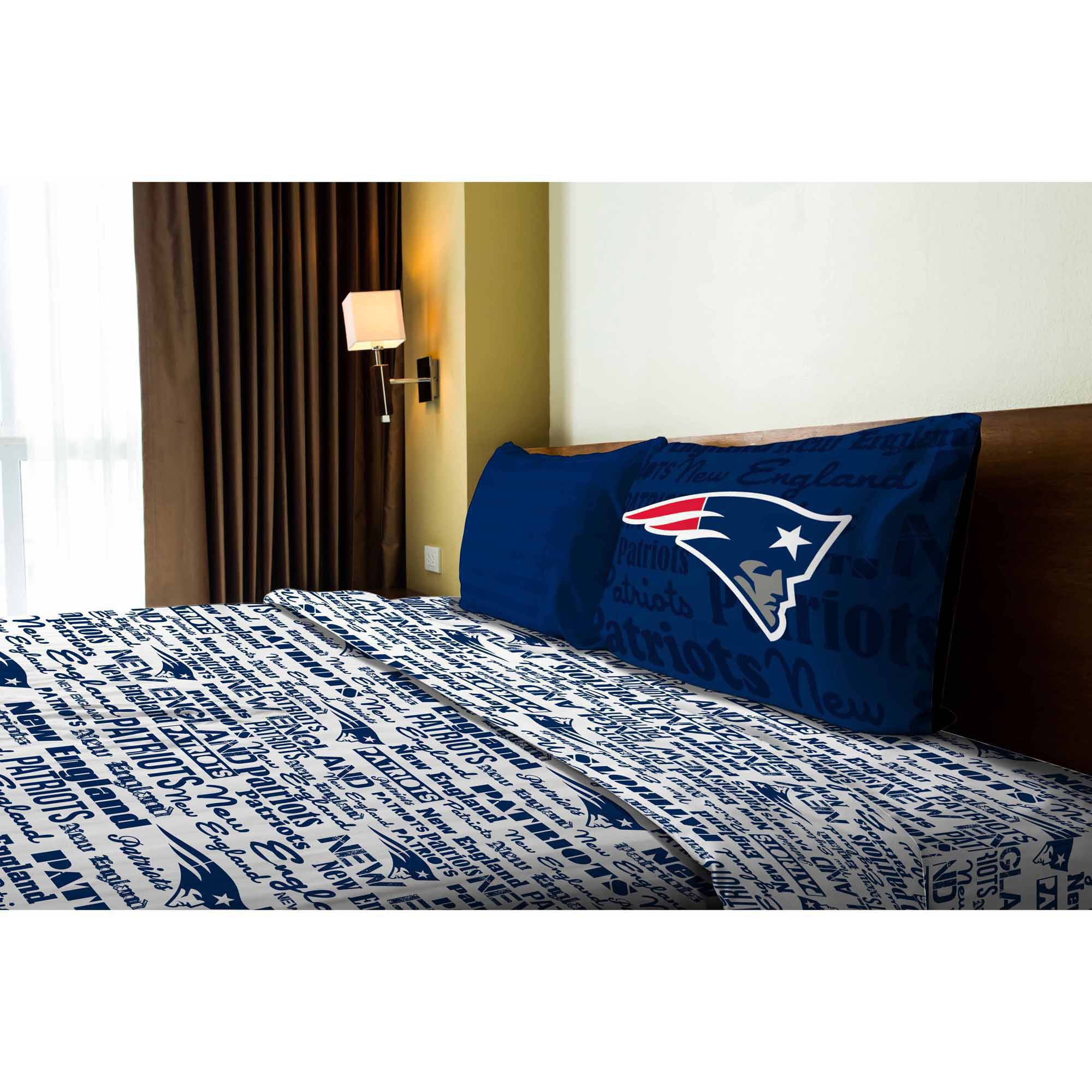 NFL New England Patriots Sheet Set