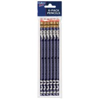 American Logo Products Texas Christian Horned Frogs Pencils, 6 Pack