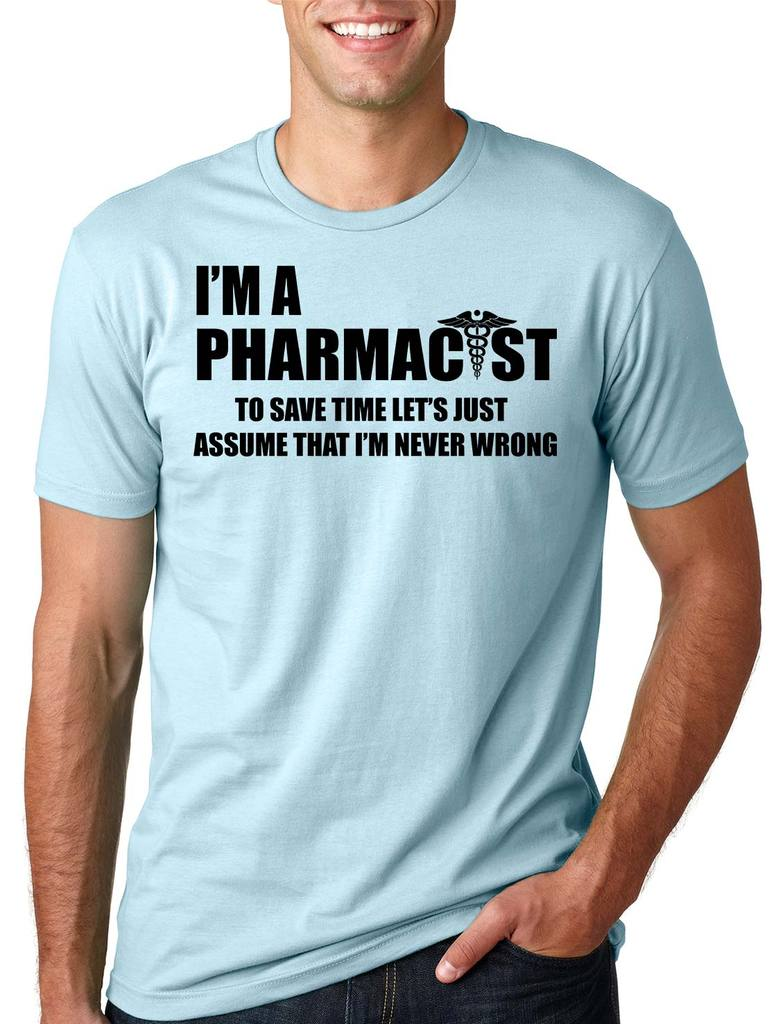 0b76de053 Silk Road Tees - Pharmacist T-Shirt Funny Occupation Tee Shirt Small Pink -  Walmart.com