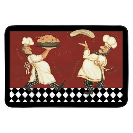 Whisk Designer Chef DC23 Italian Chef Kitchen Mat
