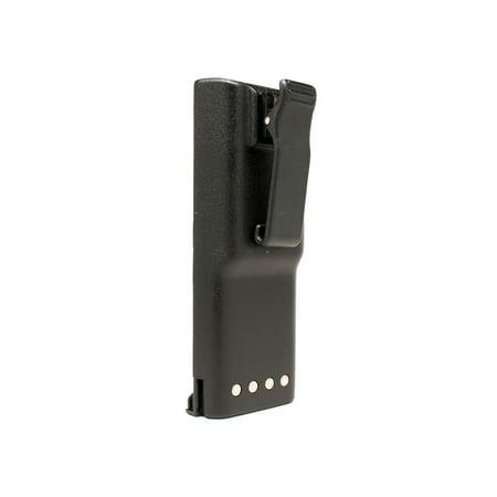 2x Pack - Motorola GP300 Battery - Replacement for Motorola HNN9628 Two-Way Radio Battery (1800mAh, 7.5V, NIMH) - image 3 de 4