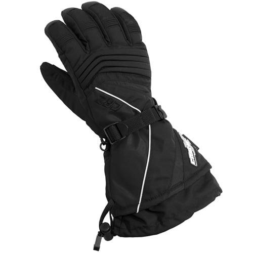 Castle X Racewear CR2 Mens Snowmobile Gloves Black