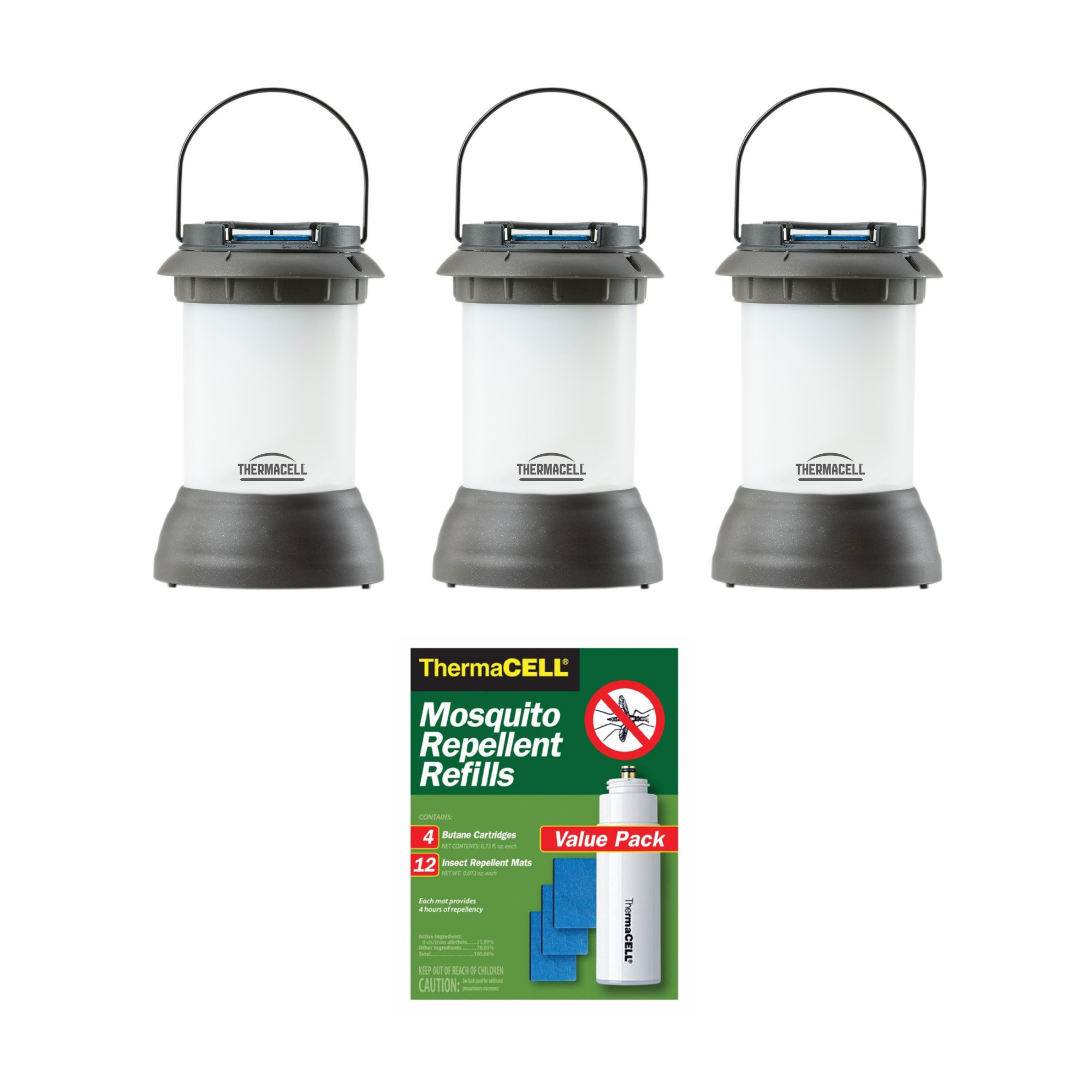 Thermacell Bristol Backyard Mosquito Repellent Lantern 3 ...