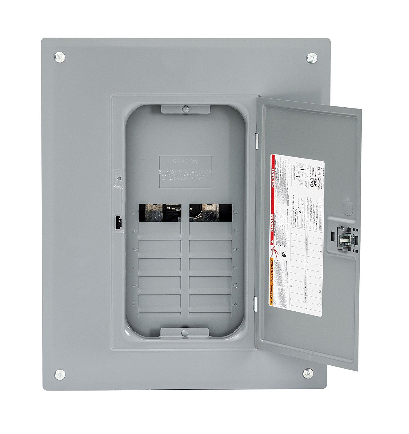 Indoor Main Lugs Load Center With Cover Plug On Neutral Ready Includes A Fully Distributed By Square D Schneider Electric Com