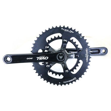 Oval Concepts 300 Praxis GXP 52/36T 175 Road Bike Crankset 10/11 Speed NEW