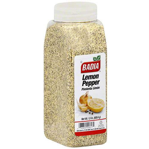 Badia Lemon Pepper, 24 oz (Pack of 6)