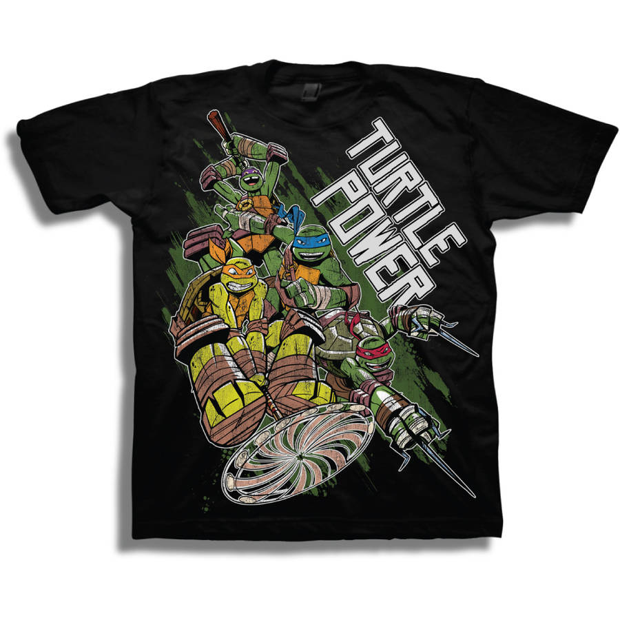 "Teenage Mutant Ninja Turtles ""Turtle Power"" Boys Short Sleeve Graphic Tee"