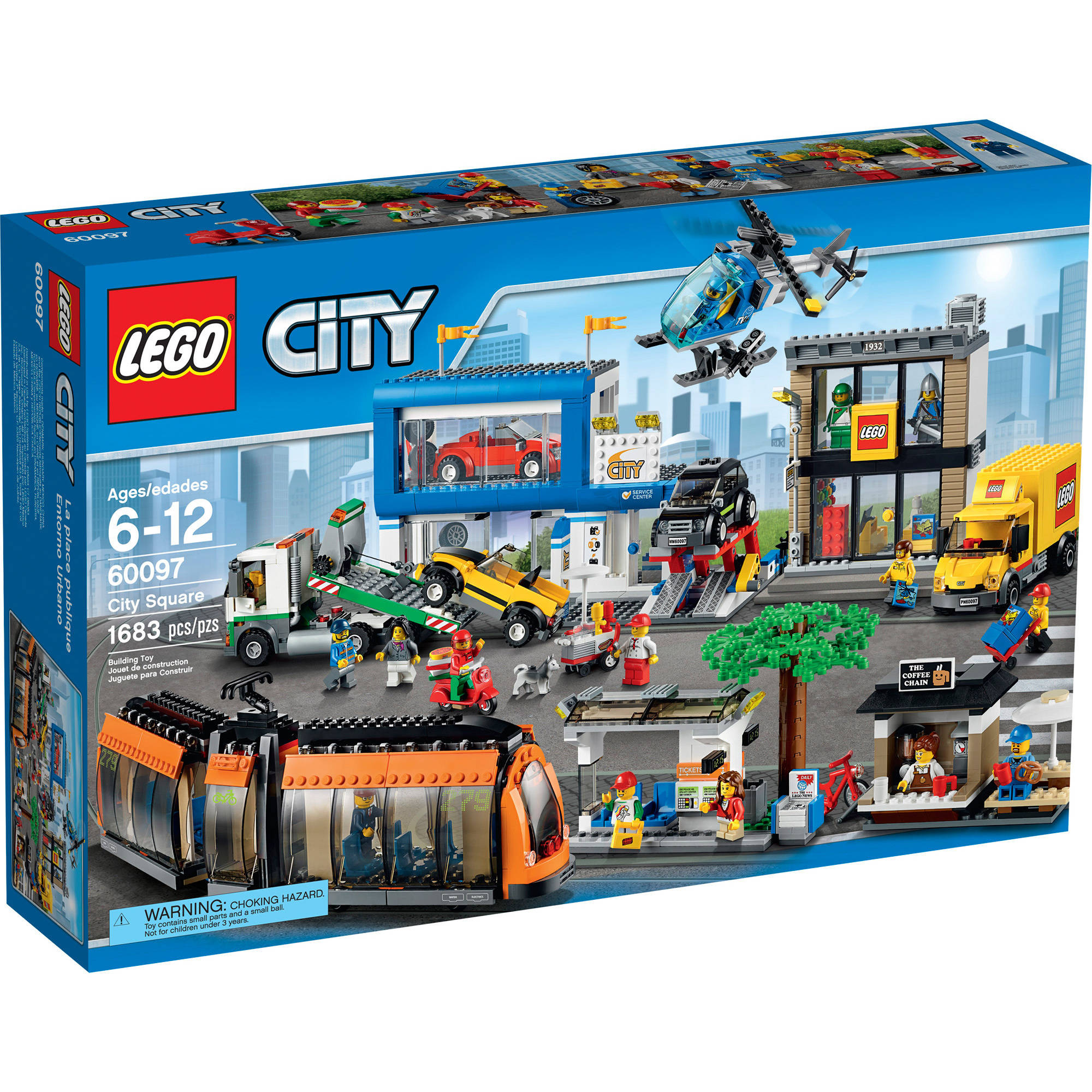 LEGO City Town City Square, 60097