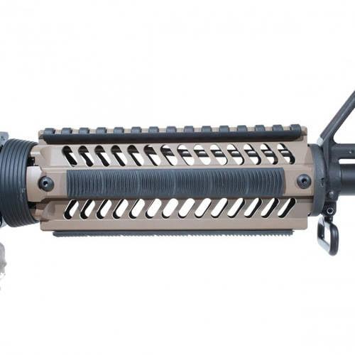 Ergo Grip KeyMod WedgeLok Rail Covers, 7 Slot, 4-Pack