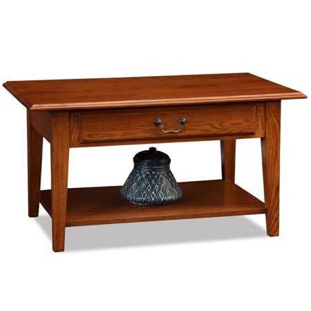 Favorite Finds 2 Piece Coffee Table and Set of 2 Square End Table in Medium Oak - image 1 de 9