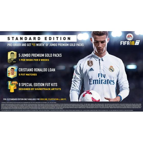 FIFA 18, Electronic Arts, Xbox One, 014633735260 - Walmart com