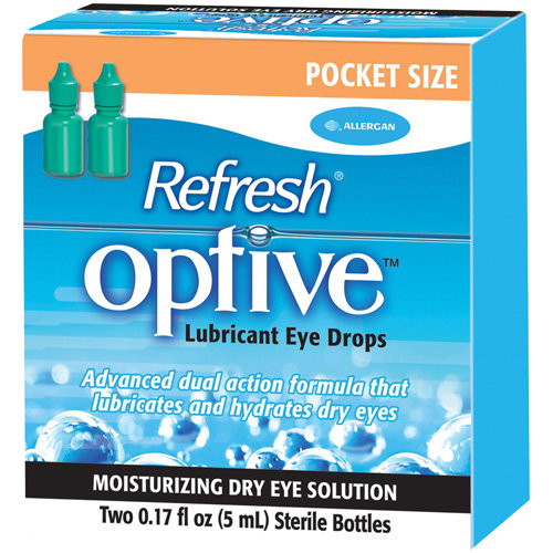 Refresh Optive Lubricant Eye Drops - 2 Ct