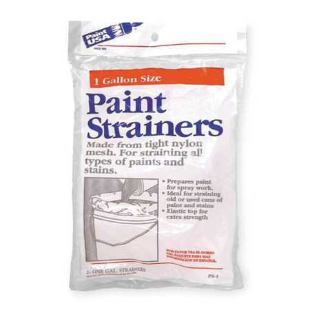 2AJT3 Reusable Paint Strainer Bag, Dia 8 In, PK2