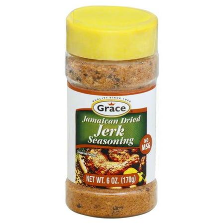 Grace Dried Jamaican Jerk Seasoning, 6 oz