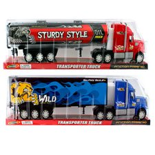 New 506715  2 Asstd. 22 F / F Tanker Truck On Bubble Box Red- Blue (6-Pack) Cheap Wholesale Discount Bulk Toys Hair Accessories](Toys Wholesale)
