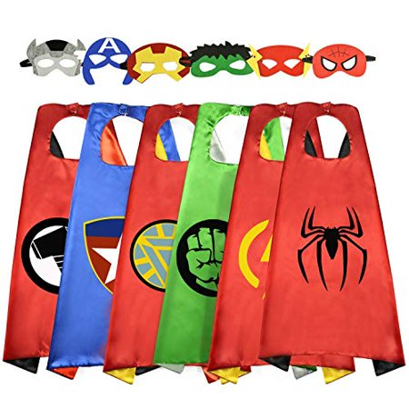 5 Year Old Twin Halloween Costumes (Roko 3-10 Year Old Boy Gifts, Superhero Costume for Boys Superhero Capes for Kids Boys Toys for 3-10 Year Old Boys Girls)