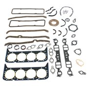 Gasket Seal Set Fit for Chevy 327 283 307 350 383 V8 Engines Complete Overhaul Head Intake Exhaust