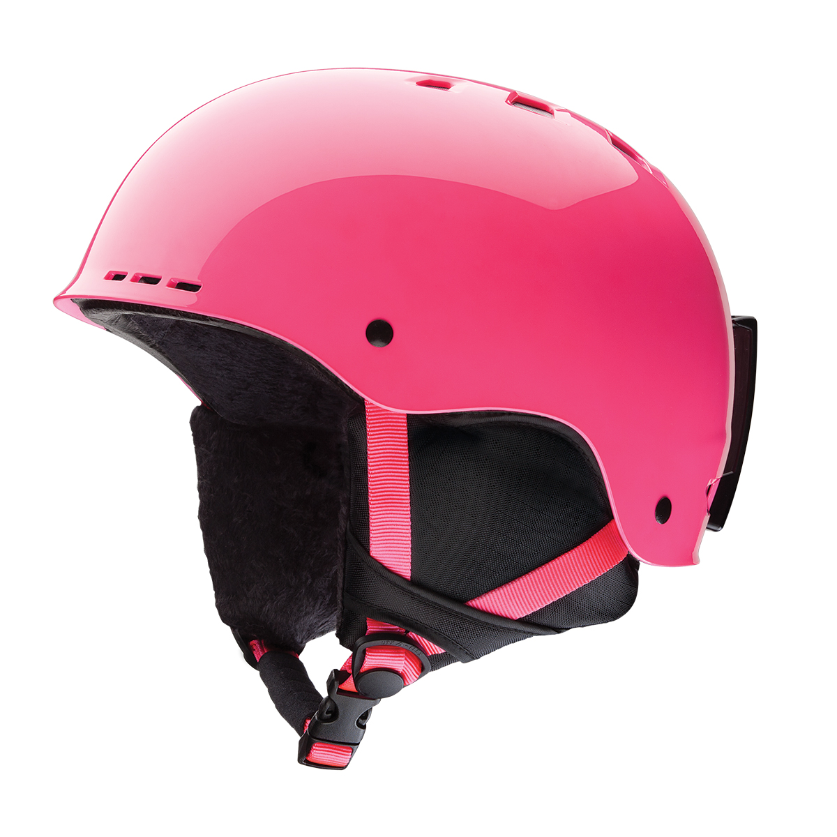 Smith Optics Holt Jr Ski Snow Helmet (Crazy Pink Youth Medium) by Smith Optics