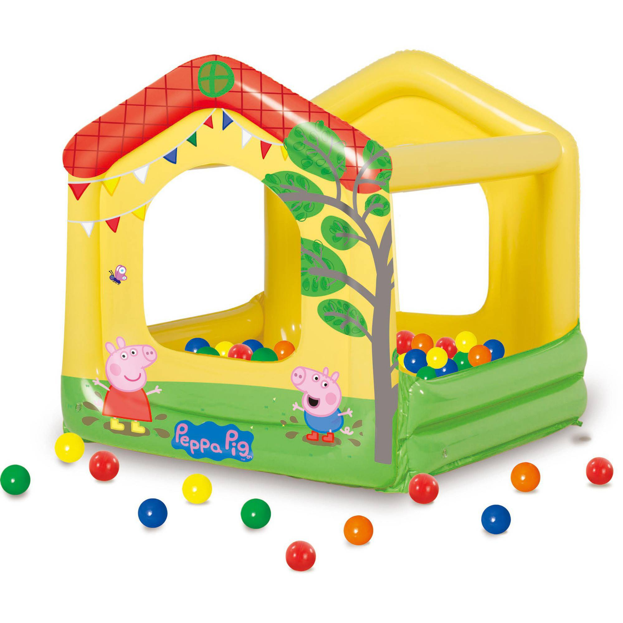 sc 1 st  Walmart & Peppa Pig Tree House Play Center Ball Pit - Walmart.com