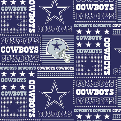 NFL Dallas Cowboys Cotton Fabric