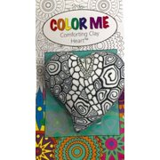 Color Me Comforting Clay Pocket Heart-Tiffany Ribbon