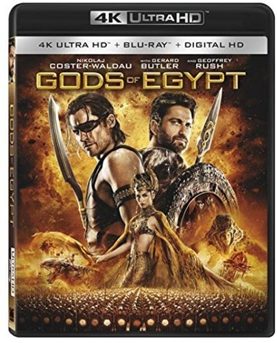 Gods of Egypt (4K Ultra HD + Blu-ray + Digital HD)