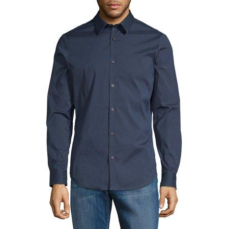 Slim-Fit Long-Sleeve Shirt (Sullen Clothing Men Tank Top)