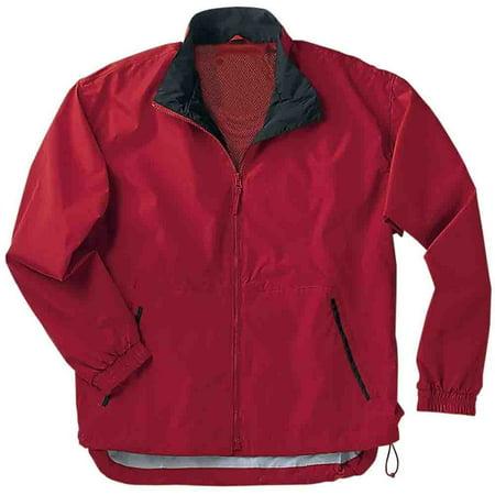 River's End Mens Mid-Length Microfiber Jacket  Athletic  Jacket -